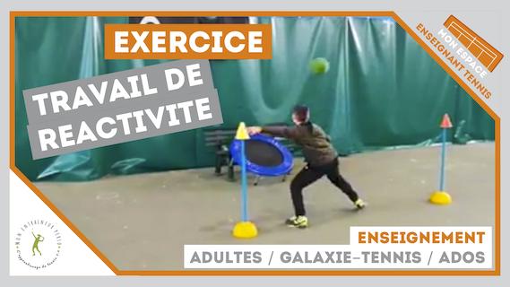 exercice reactivite galaxie tennis ados