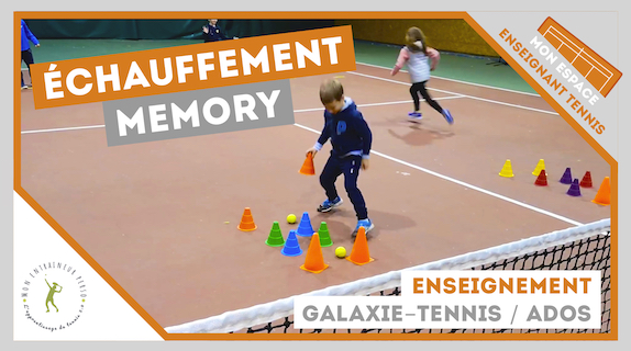 jeu echauffement memory galaxie tennis ados