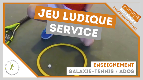 jeu ludique service galaxie tennis ados