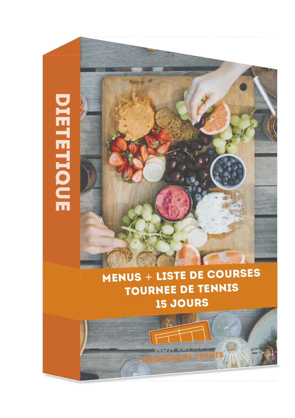 formation, dietetique menus tournee tennis