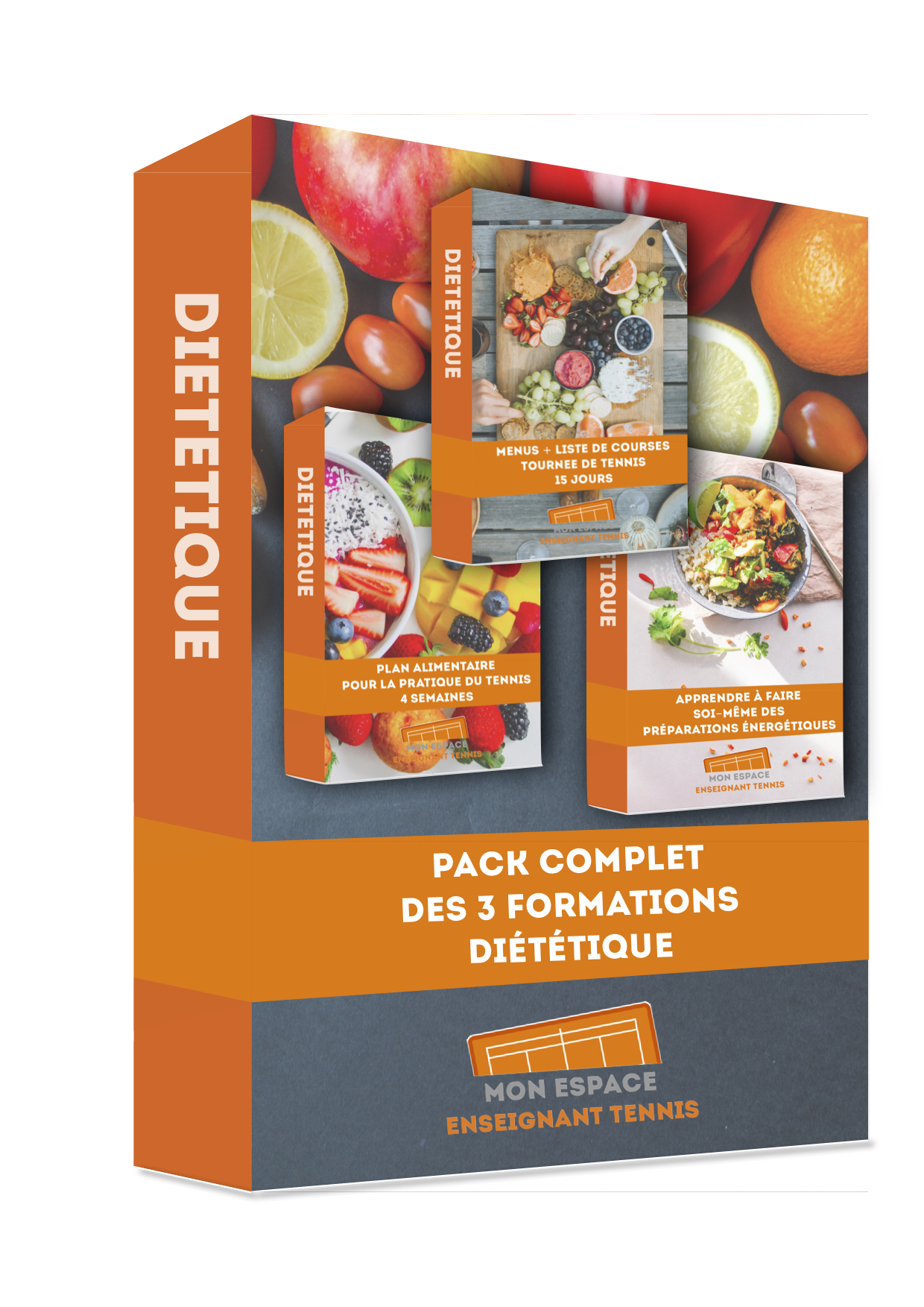 formation, dietetique pack complet tennis